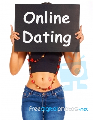 online dating girl