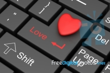 Online keyboard dating heart