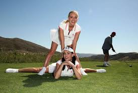 golf 2 girls & a guy