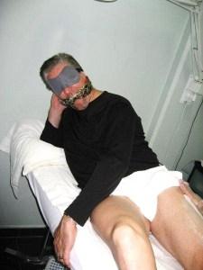 My Husband Getting Waxed!
