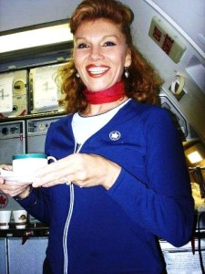 Flight Attendant Shot
