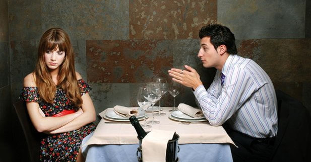SWExperts  Couple fighting on a date