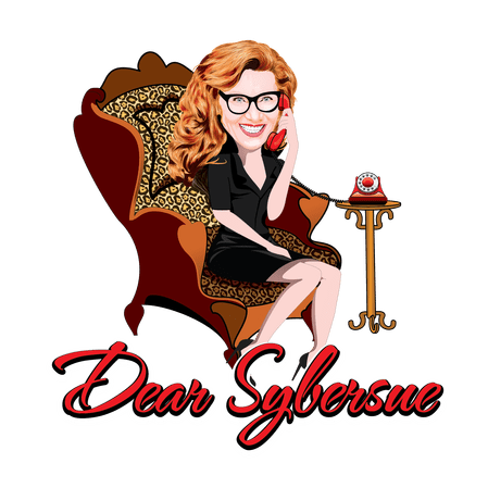 This image has an empty alt attribute; its file name is dear_sybersue__caricature01-2.png